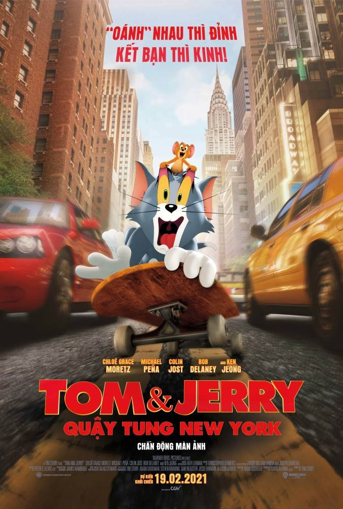 Tom & Jerry: Quậy Tung New York - Tom and Jerry