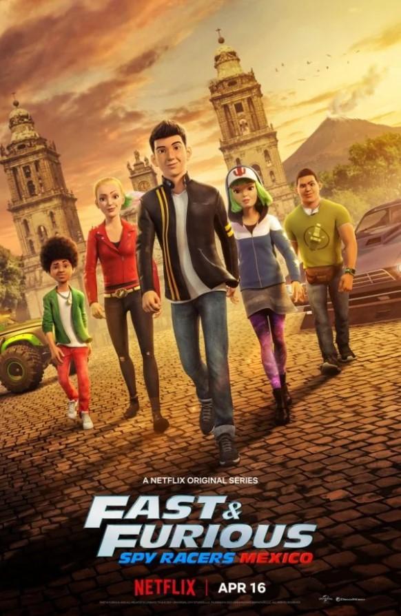 Quá Nhanh Quá Nguy Hiểm: Điệp Viên Tốc Độ (Phần 4) - Fast & Furious: Spy Racers (Season 4)