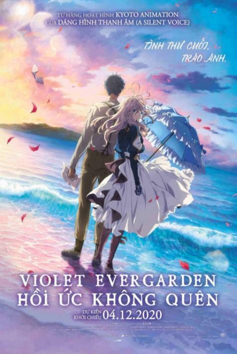 Violet Evergarden- Hồi Ức Không Quên - Violet Evergarden The Movie