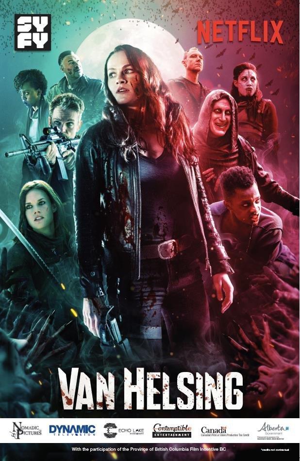 Khắc Tinh Ma Cà Rồng (Phần 5) - Van Helsing (Season 5)