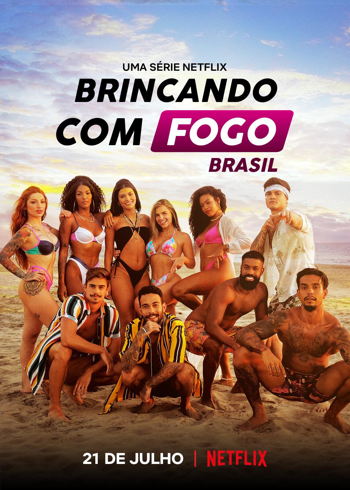 Sự Cám Dỗ Nóng Bỏng: Brazil (Phần 1) - Too Hot to Handle: Brazil (Season 1)