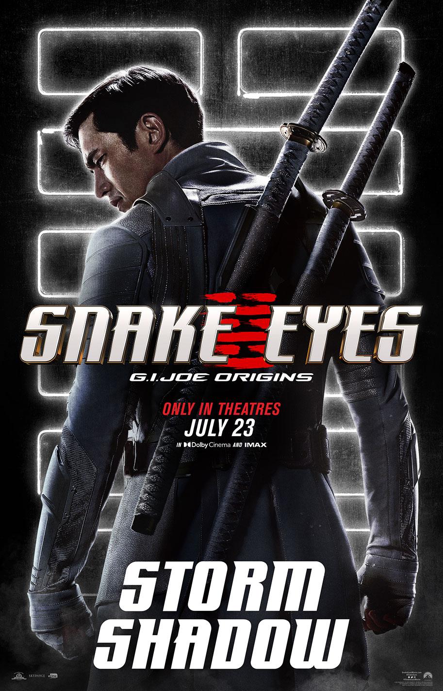 G.I. JOE: Xà Nhãn Báo Thù - Snake Eyes: G.I. Joe Origins