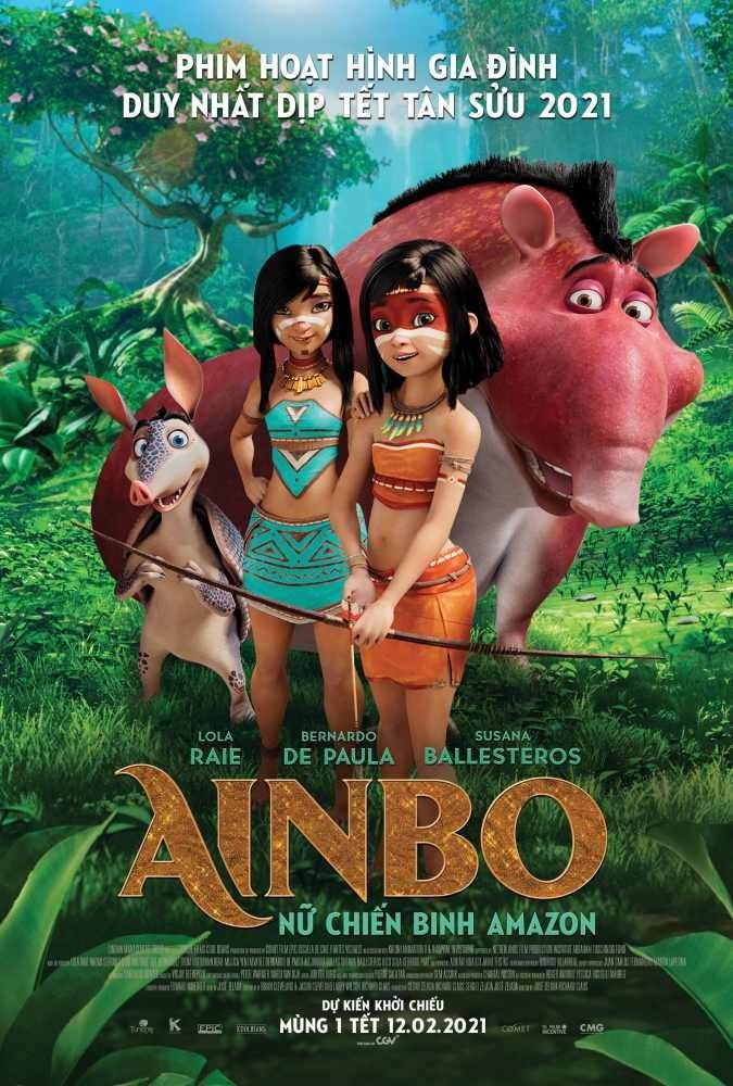 Ainbo: Nữ Chiến Binh Amazon - AINBO: Spirit of the Amazon