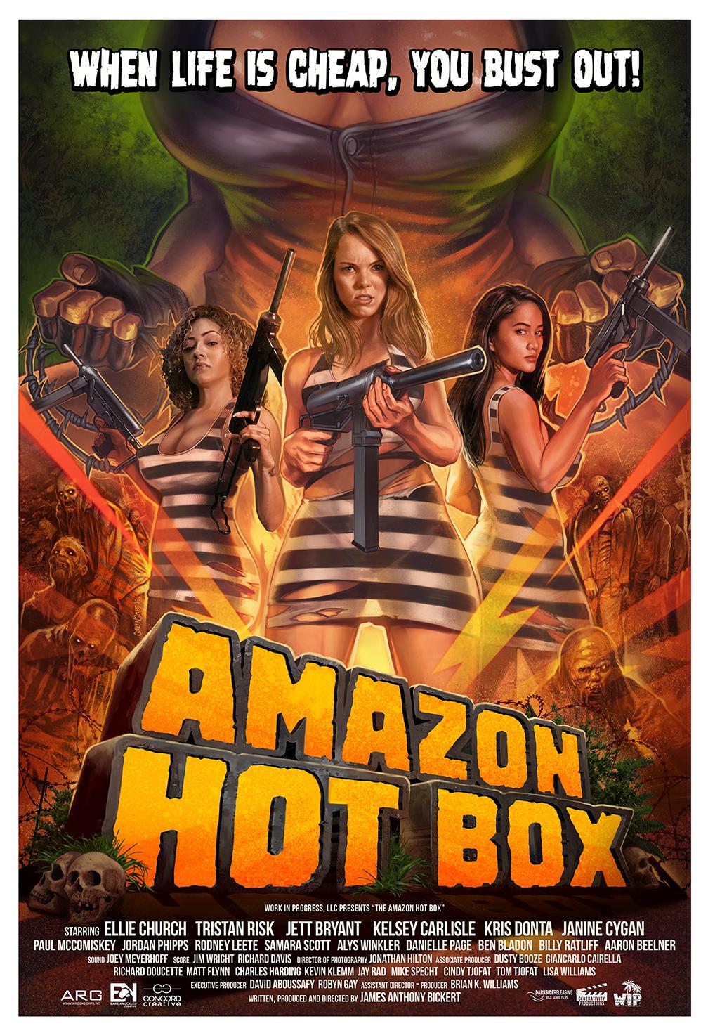 Địa Ngục Amazon - Amazon Hot Box