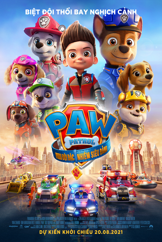 PAW Patrol: Phim Đội Đặc Nhiệm Siêu Đẳng - PAW Patrol: The Movie