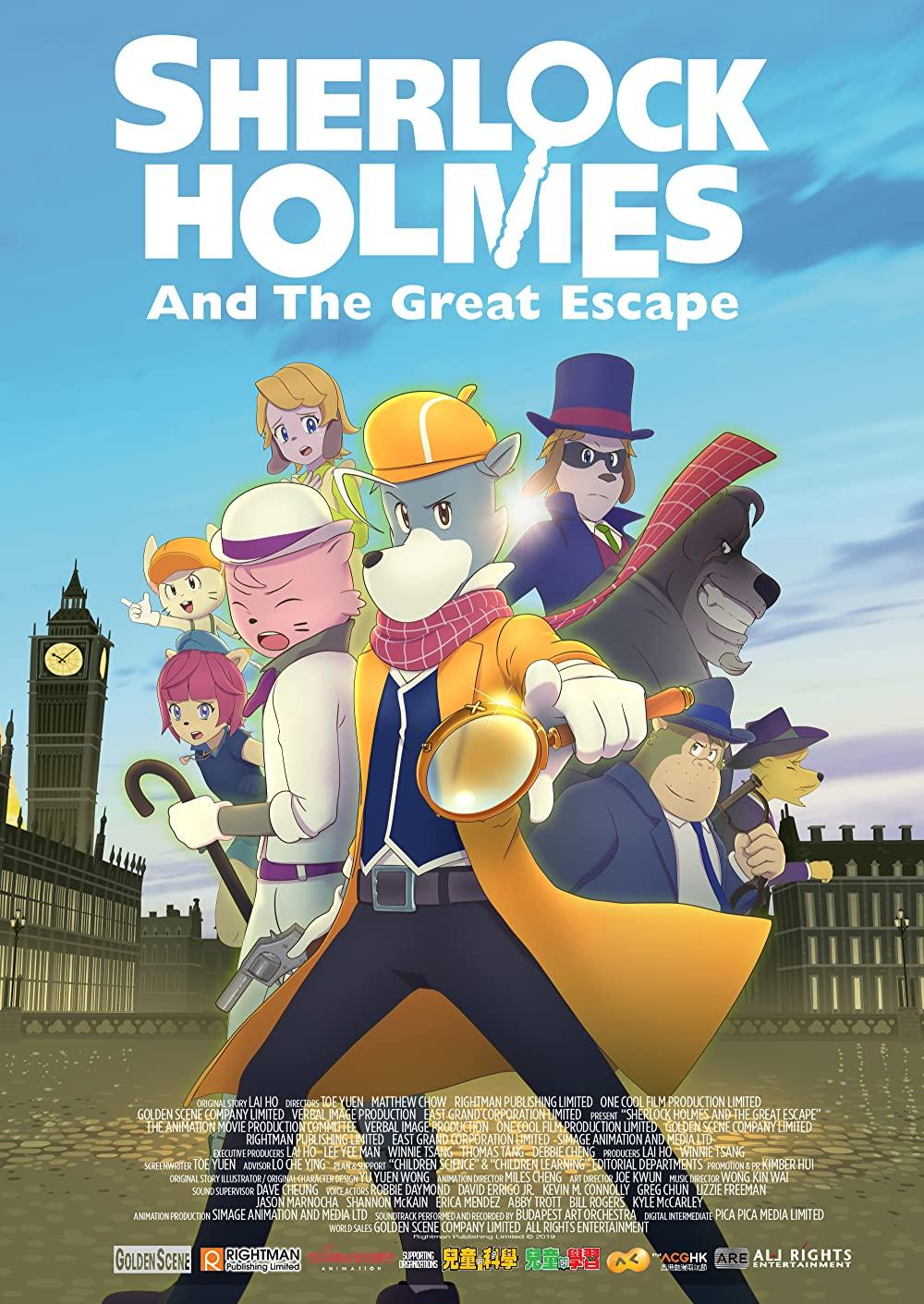 Thám Tử Lừng Danh Sherlock Holmes: Kẻ Phá Ngục Vĩ Đại - The Great Detective Sherlock Holmes: The Great Jail-Breaker