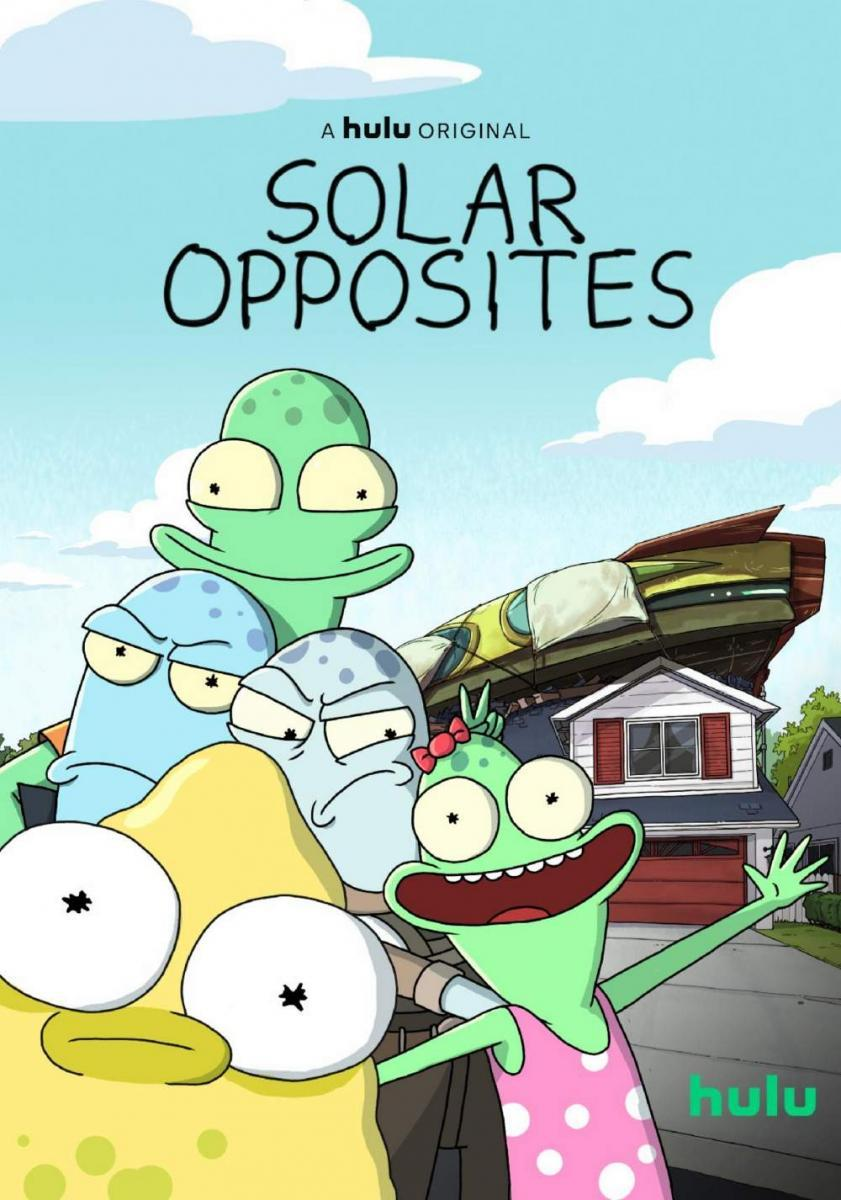 Gia Đình Ngoài Hành Tinh (Phần 2) - Solar Opposites (Season 2)