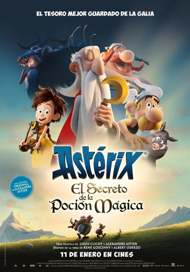 Asterix: Bí Kíp Luyện Thần Dược - Asterix: The Secret Of The Magic Potion