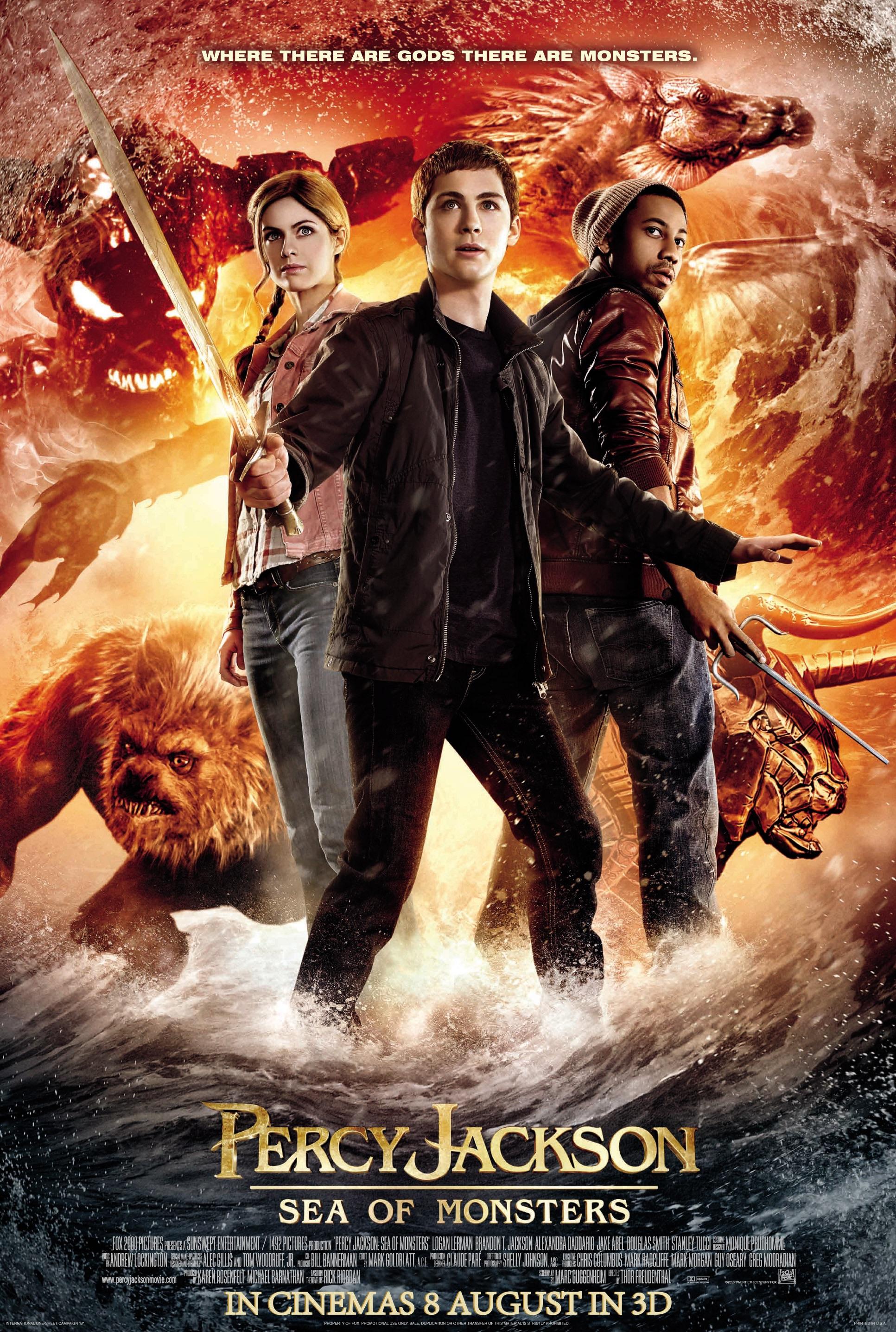 PERCY JACKSON Biển Quái Vật - Percy Jackson: Sea Of Monsters