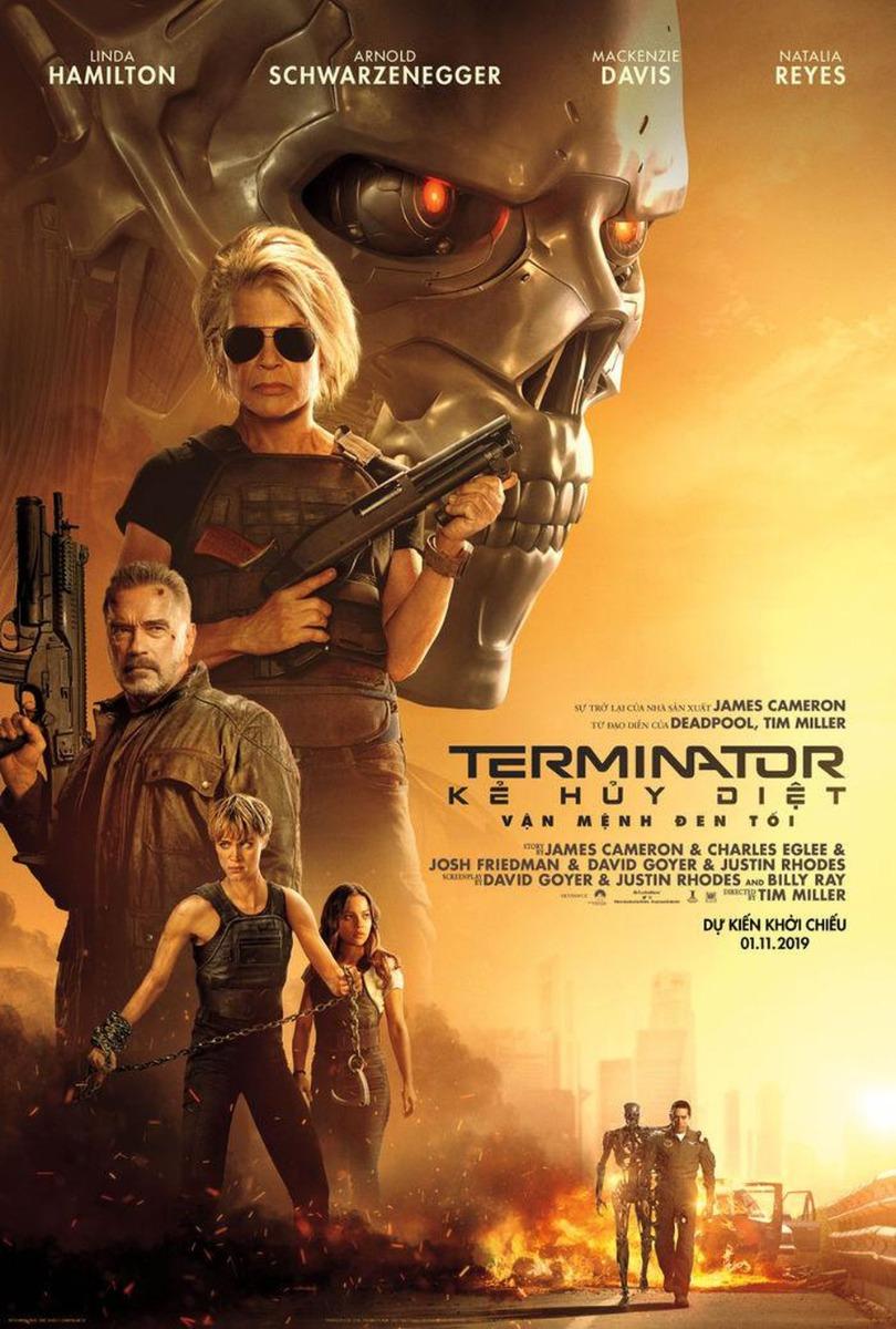 Kẻ Hủy Diệt 6: Vận Mệnh Đen Tối - Terminator: Dark Fate (2019)