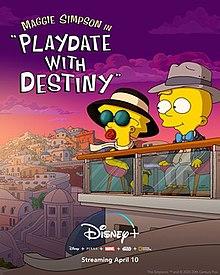 Hẹn Hò Cùng Định Mệnh - Maggie Simpson In Playdate with Destiny